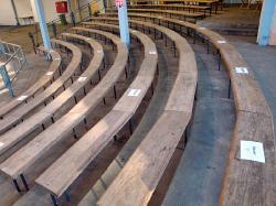 Kennzeichnung der Sitzplätze